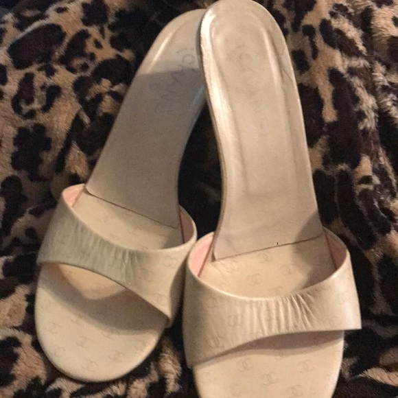 CHANEL Shoes - Chanel mules Authentic